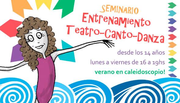 Seminario de Verano: Entrenamiento – Desde 14 años