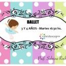 Ballet – Para chicos de 3 y 4 años